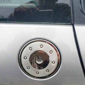 Крышка топливного бака из нержавеющей стали газовый короб крышка автомобиля-Стайлинг Аксессуары для Peugeot 206 207 CITROEN C2
