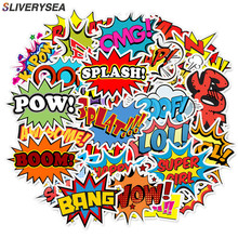 50pcs Car Sticker English Alphabet Suitcase Stickers Explosion Cloud Personality Trolley Case Laptop Scooter Waterproof