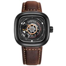MOCOCELA MC5 Full automatic mechanical watch male watch hollow large square dial watch стоимость