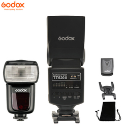 Godox Thinklite Camera Flash TT520II with Build-in 433MHz Wireless Signal for Canon Nikon Pentax Sony Fuji Olympus DSLR Cameras