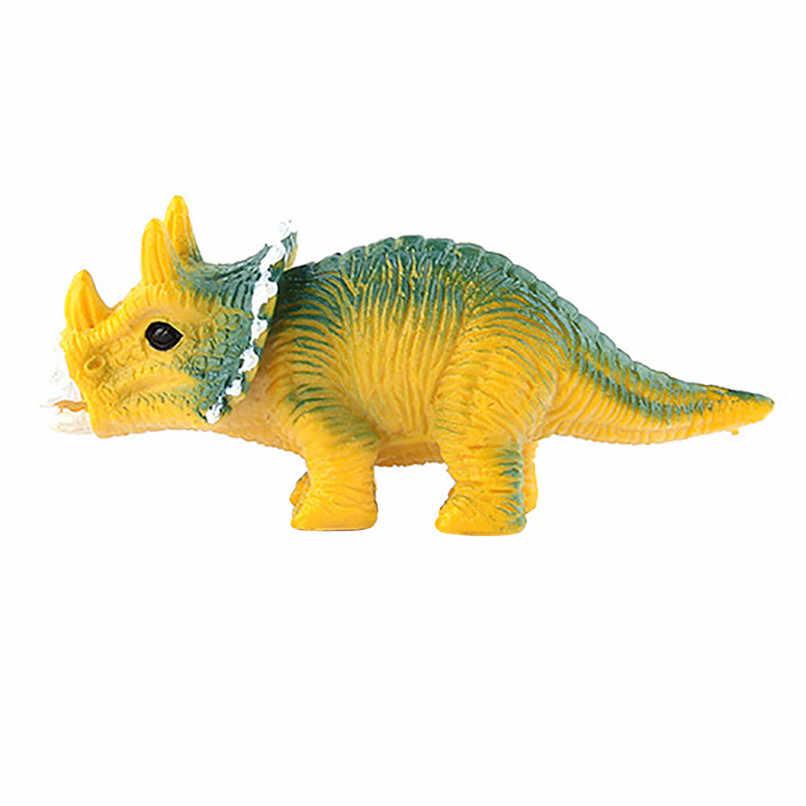 Simulato Solido Modello di Dinosauro Set Giocattoli Dinosauro Tyrannosaurus Pterosauro Tricerosaur best Regalo Per I Ragazzi Brinquedos #30N14