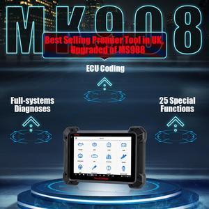 Image 3 - Autel escáner MaxiCOM MK908 OBD2 para coche, herramienta de diagnóstico OBDII de nivel OE, programador de llaves de Control bidireccional, lector de código PK MK808