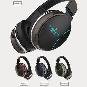 Image 2 - Auriculares plegables LED 002 Auriculares inalámbricos con Bluetooth, auriculares estéreo 3D para videojuegos