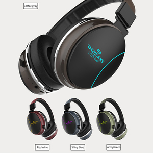 Image 2 - LED 002 Wireless Bluetooth Headset Folding Kopfhörer 3D Stereo Gaming Headset
