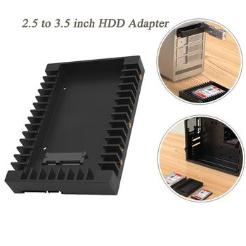 2.5 to 3.5 inch HDD Adapter Hard Drive Caddy Support SATA 3.0 6Gbps Support 2.5 inch SATA1/2/3 HDD&SSD Solid State Disk