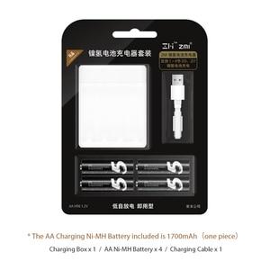 Image 5 - ZMI Lote de baterías recargables de 700mAh, lote de 4 unidades, ZI7 ZI5 AAA, AA, 1800mAh, 1,2 V