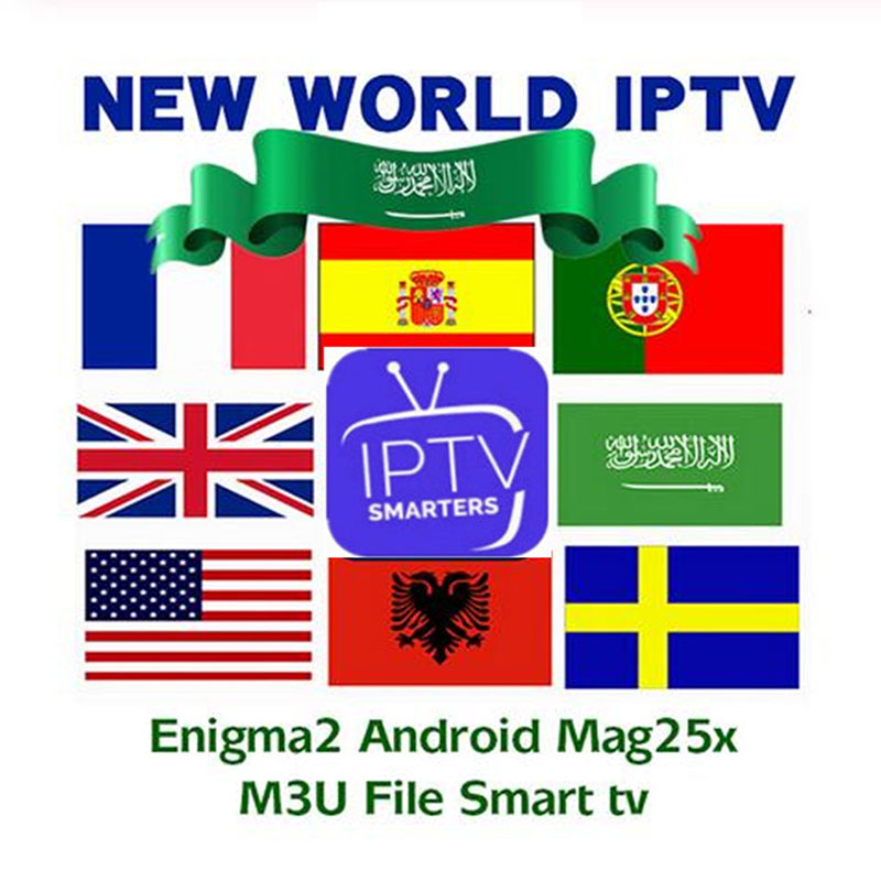 German IPTV Subscription 8000 Live UK France Spain Arabic  Dutch Sweden Poland Portugal Android Ssmart TV M3U MA9