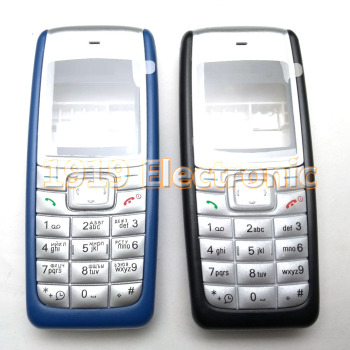 New Full Phone Housing Cover Case With Russian or English Keypad For Nokia 1110 1