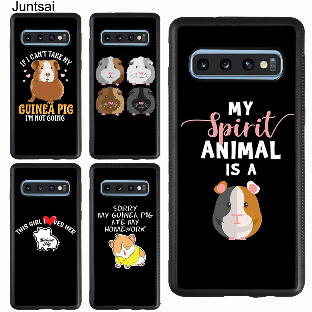 <font><b>Funny</b></font> Cute Animal Guinea Pig <font><b>Case</b></font> For <font><b>Samsung</b></font> Galaxy A51 A70 A71 A7 A50 A40 A20 A10 S8 S9 S10 S20 Ultra S10e <font><b>Note</b></font> <font><b>9</b></font> 10 Plus image