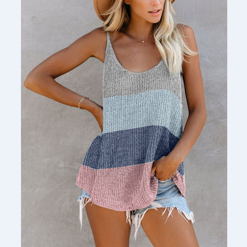 2020 Crochet Knitted Beach Wear Women Swimsuit Cover Up Swimwear Bathing Suits Summer Mini Dress Loose Striped Pareo Cover Ups