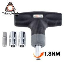 Trianglelab Predefinida Torquímetro 1.8N Segura e rápida HEX SOQUETE CHAVE de TORQUE 7MM 8MM para Bocal De Impressora 3D V6 vulcão MK8