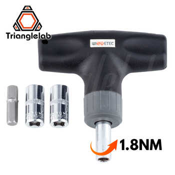 trianglelab Preset Torque Wrench 1.8N Safe and fast HEX SOCKET TORQUE WRENCH -7MM 8MM for 3D Printer Nozzle V6 volcano MK8 - DISCOUNT ITEM  5% OFF All Category