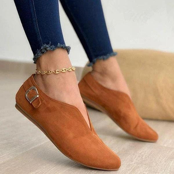 Women Elegant Casual Daily Comfy Slip On Flats
