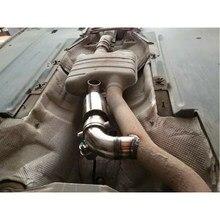 Casa tubo de escape muffle pro ferramenta reposição som tuning 51mm aço inoxidável