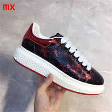 Casual Shoes Sneakers LACE-UP Classic Flat-Basic Genuine-Leather Ladies F.N.JACK Women