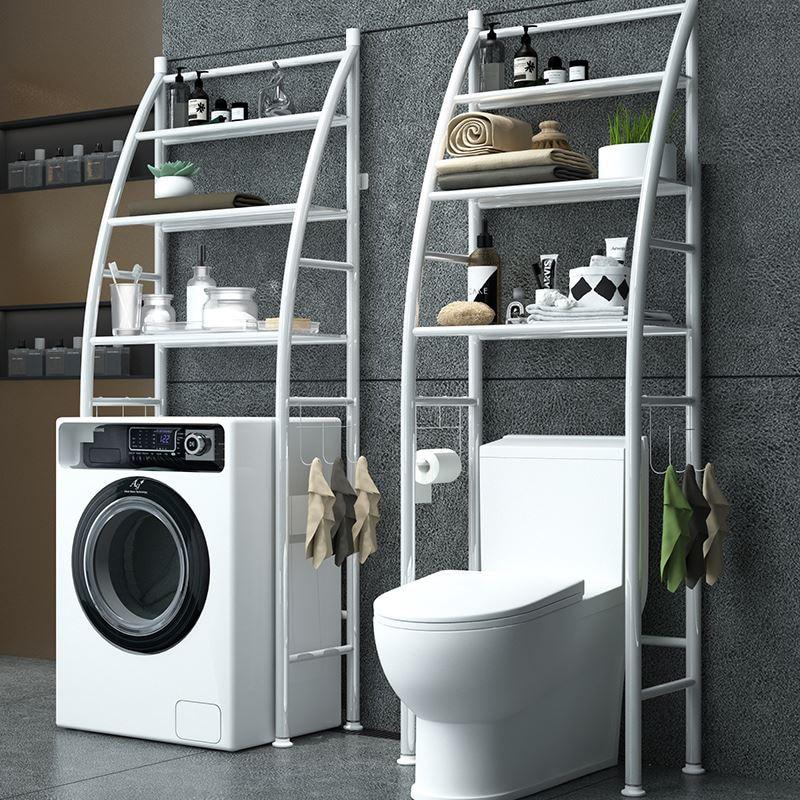 Balcony Corner Frame Floor-to-floor Full-automatic Drum Washing Machine Storage Rack Toilet Toilet Rack Floor-to-floor Type