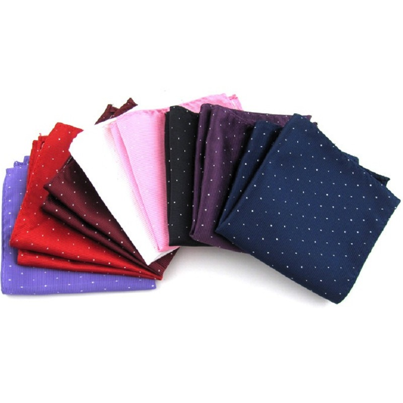 Handle Handkerchief Pot Hand Towels Men's Handkerchief Pocket Square Accessories Square Strip Kerchief Handy For Men 8 Colors