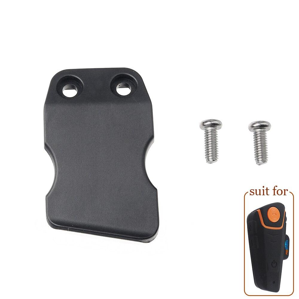 Fodsports hełmofonu klips wspornik nadaje się do BT-S2 domofon motocykl bt interphone zestaw słuchawkowy Bluetooth Intercomunicador