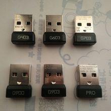 Klucz Usb odbiornik odbiornik sygnału Usb Adapter do Logitech G903 G403 G900 G703 G603 G PRO bezprzewodowa mysz Adapter
