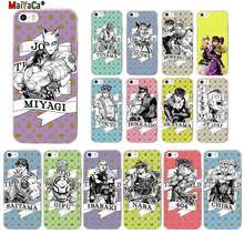 MaiYaCa JoJo's Bizarre Adventure JoJo Anime Custom TPU Soft Phone Cover for iPhone 11 pro XS MAX 8 7 6 6S Plus X 5 5S SE XR(China)