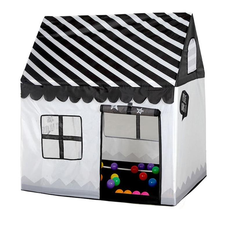 interior ao ar livre pequena tenda casa de brinquedo portatil dobravel oceano bola piscina simulacao casa