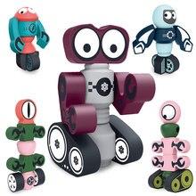 Planet War exploor bloki magnetyczne układanki magnetyczne budowa Model 3D magnetyczne bloki do układania w stosy zabawki edukacyjne dla dzieci