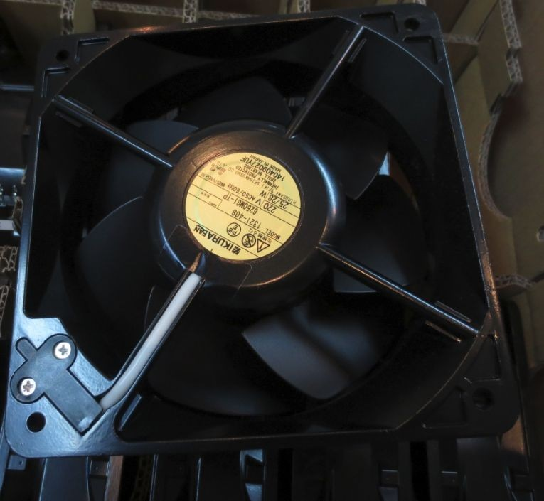 7506X-TP 220V Original Japan Toshiba TOBISHI 140*140*50 Full Metal High Temperature Resistant Fan