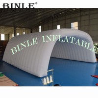 Barraca inflável exterior branca do famoso  dossel inflável  capa inflável da fase  barraca inflável da fase para o concerto ou eventos