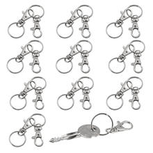 20 small removable screw caps for key rings - carabiner key chain - cosmetics & jewelery(China)