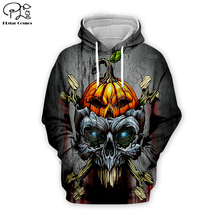 Pumpkin King Skull art print Men 3d Hoodies Sweatshirt t shirts  happy Halloween Christmas Jack Skelling Corpse Bride pullover майка print bar jack skull