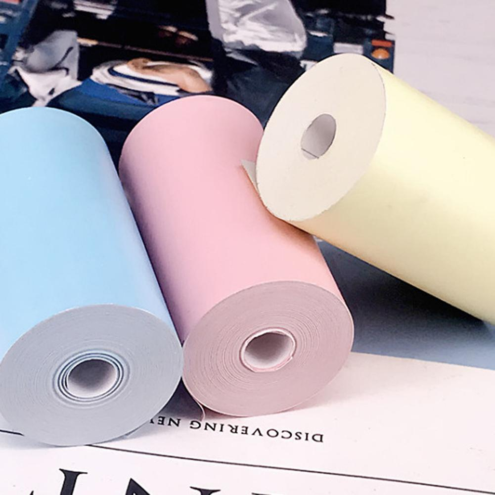 57x30mm Adhesive Thermal  Sticker Photo Printing Paper for Paperang P1