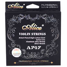 4/4 Violin String Full Set - Medium Gauge Steel Ball-End E Violino strings made in Germany - DISCOUNT ITEM  20% OFF Sports & Entertainment
