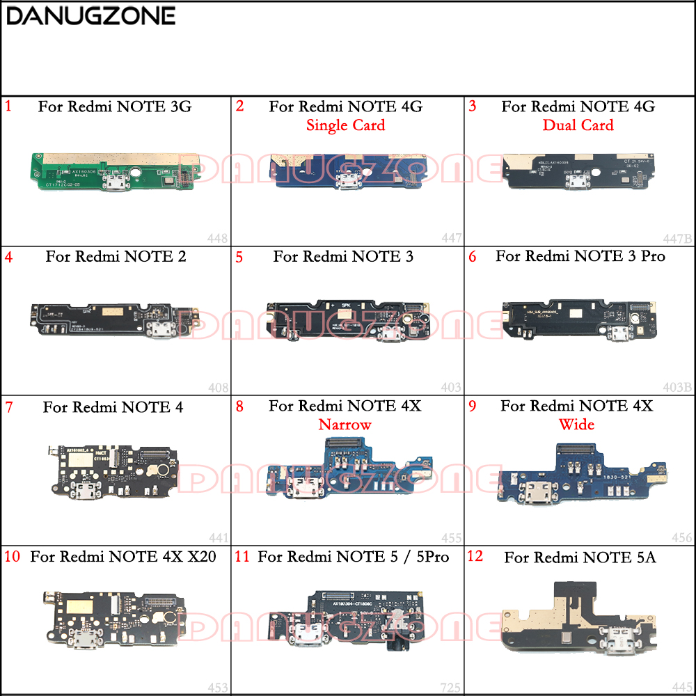 Placa de Carga Doca de Carregamento USB Porto Plug Jack Connector Flex Cable Para Xiaomi Redmi NOTA 5 5PRO/NOTE 5A 4 4X X20 2/NOTE 3 PRO