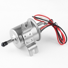 12V Low Pressure Gas Diesel Inline Electric Fuel Pump for Car Truck Boat 8mm Tubing Interface