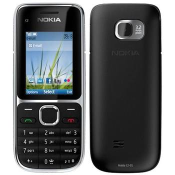 Original Nokia C2 C2-01 Unlocked GSM Mobile Phone English&Hebrew Keyboard Support Logo On The Button Used Cellphones 3