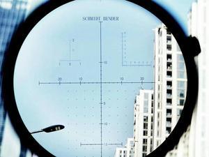 Image 2 - شميت بندر جديد 1.2 6x24 30 مللي متر أنبوب قطر قصير Riflescope مضيئة الصيد نطاق مع الزجاج تعزيز شبكاني التركيز السريع