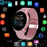 New 2021 Smart Watch Women Men Smartwatch Electronics Smart Clock For Android IOS Fitness Tracker Sport Fashion Smart-watch W9 1