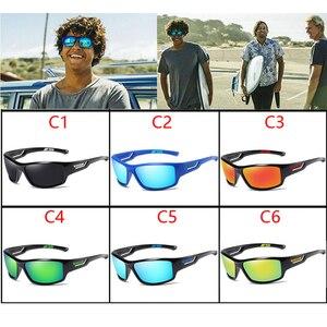 Image 2 - Viahda偏光サングラス男性デザイナーhd駆動太陽メガネファッション男性釣り眼鏡UV400 gafasデゾル