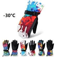Ski-Gloves Riding Motorcycle Waterproof Winter Adult Teenager Professional Climbing