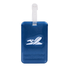 Samolot Logo fajne akcesoria podróżne zawieszki do bagażu bagaż Tag żel krzemionkowy walizka ID Addres Holder Portable tanie tanio Mcneely Akcesoria podróżnicze 10cm CARTOON Luggage Tags Tagi bagaż 0 3cm PVC soft glue Animal prints