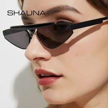 Женские маленькие солнцезащитные очки shauna кошачий глаз с