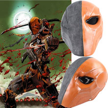 Halloween Deathstroke Slade Joseph Wilson Terminator Masks Head Helmet Props Resin Mask(China)