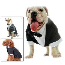 Pet Puppy Dog Clothes Costume Tuxedo Wedding Suit for Large Medium Small#X8