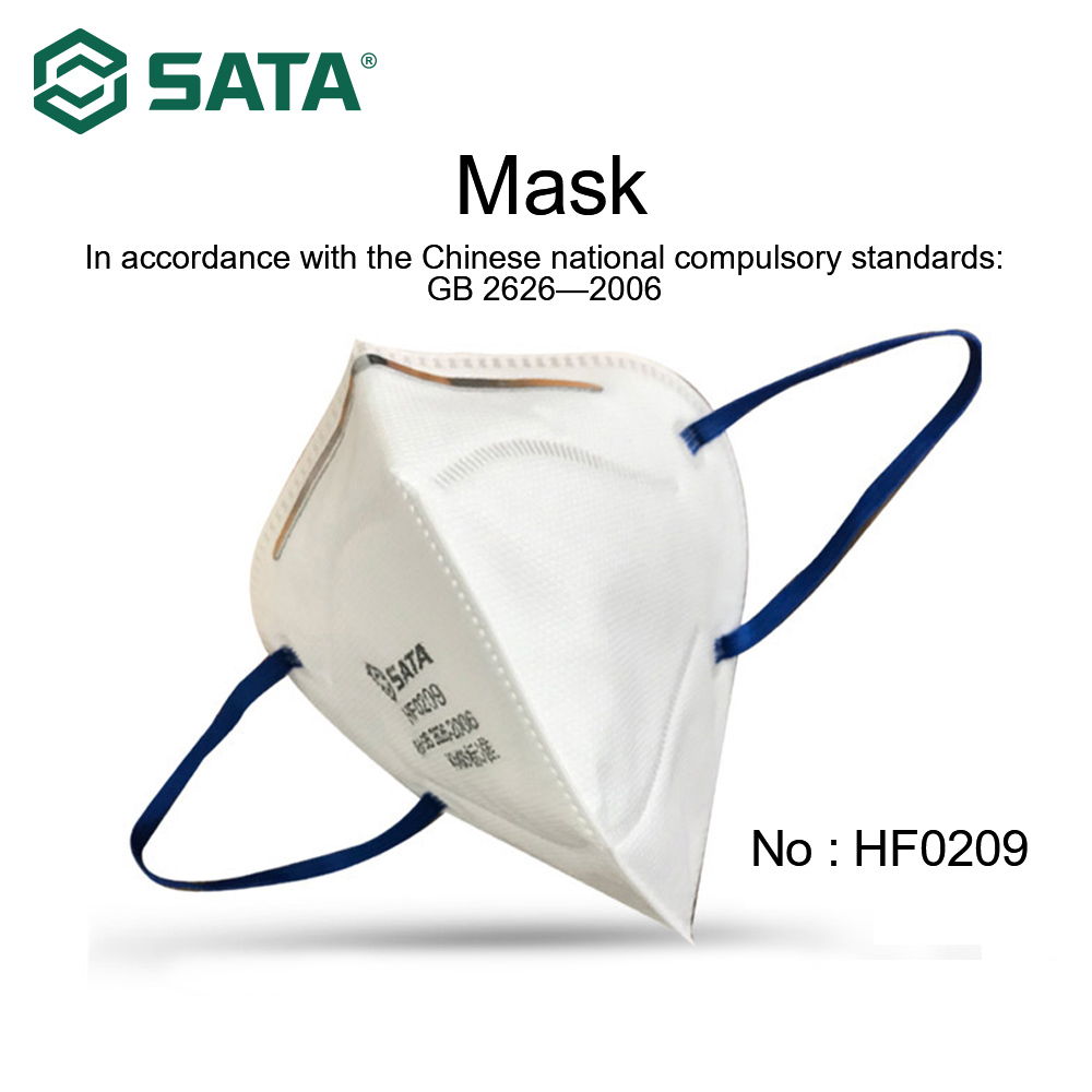 10pcs SATA Masks Antivirus Flu Anti Infection Foldable Masks Particulate Respirator PM2.5 Protective Free Shipping