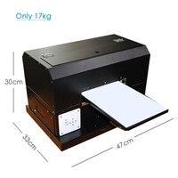 Huiti  impressora uv automática de alta qualidade para a caixa do telefone placa acrílica de madeira do metal a4 pequena impressora uv Impressoras     -