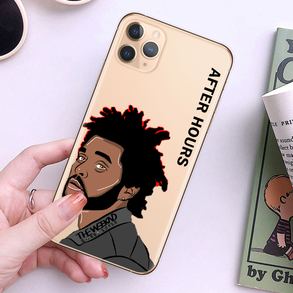 The Weeknd After Hours Phone Case For Coque iPhone 11 Pro Max 8 8Plus 7 7Plus 6 6S Plus 5S SE Transparent Silicone Back Cover