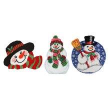 Набор крючков с защелкой diy коврик для вязания крючком рождественским
