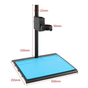 Aluminum Alloy Adjustable Focusing Bracket Focusing Holder Table Stand 40mm 50mm For Digital HDMI USB Video Microscope Camera