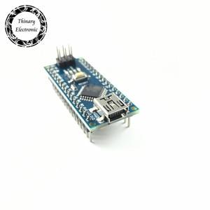 Image 3 - 10Pcs/lot Nano Atmega168 controller compatible for arduino nano Atmega168P CH340 CH340C replace CH340G USB driver NO CABLE