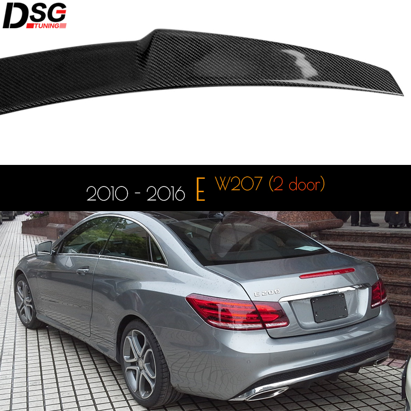 Carbon Fiber Water Cup Holder Cover For Benz E Class Coupe W207 C207 2009-2012
